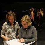 Irsk danseinstruktør lærer bort dans